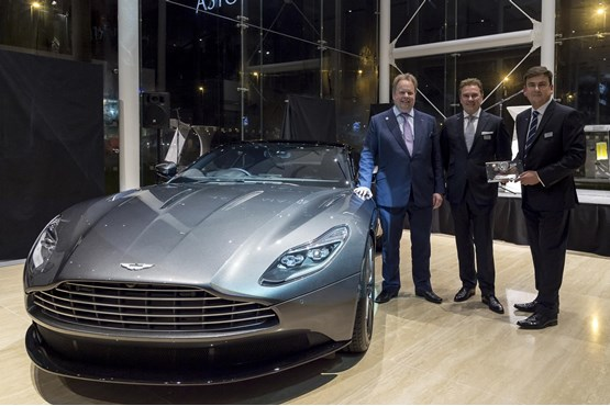 Stoneacre opens aston martin showroom in newcastle car for Stone acre