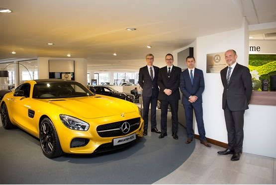 Sytner Group S 163 1 Million Teesside Mercedes Redevelopment