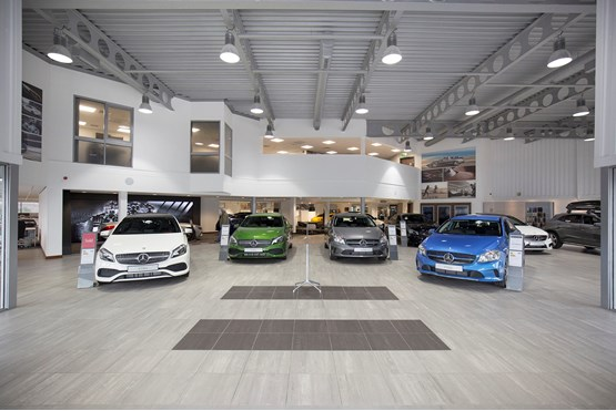 sytner group 39 s 1 million teesside mercedes redevelopment