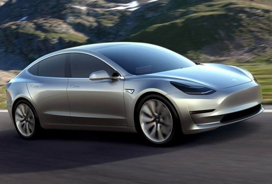 tesla 39 s 25 000 model 3 ev to rival the bmw 3 series and audi a4 car manufacturer news. Black Bedroom Furniture Sets. Home Design Ideas