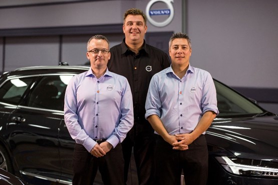 Mike O'Neill, Tim Knowles and Simon Chiu - Volvo
