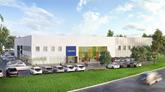 Volvo training centre Daventry artist's impression