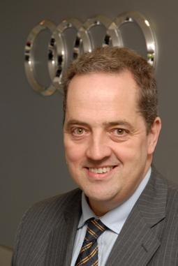 Audi 2011 interim head of marketing Philip Olden