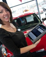Stratstone Mini Derby has trialled using its DMS on an iPad