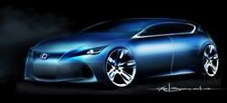 Lexus premium compact concept 2009