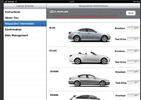 Lexis iPad app