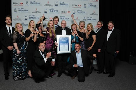 Revive! win franchisee support award -June 2010