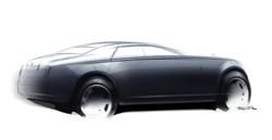 Rolls-Royce Ghost sketch