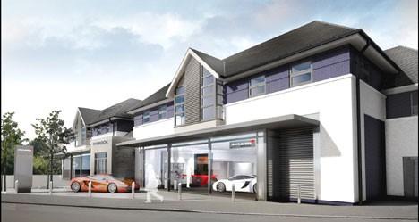 Rybrook Holdings McLaren Birmingham site