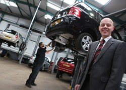 Vertu Motors prep centre in Darlington