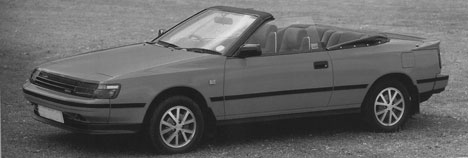1988 Toyota 2.0-litre Celica GT cabriolet