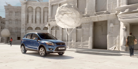 A still from Ford's new Kuga advert
