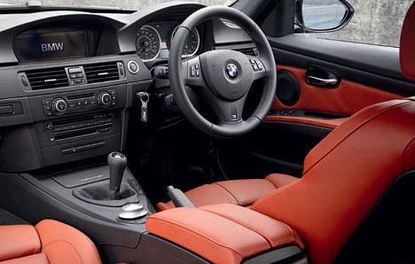 2008 BMW M3 Interior