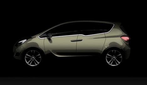 Vauxhall's Meriva concept