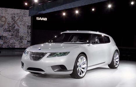 Saab's 9-X BioHybrid won best concept car at the 2008 Geneva Motor Show.