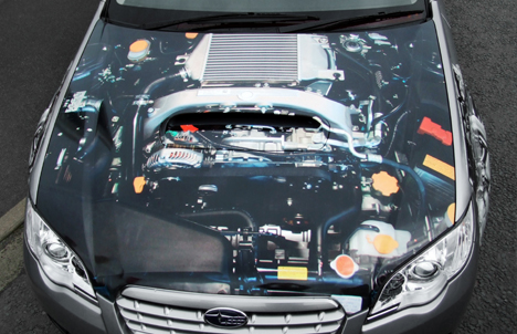 X-ray Subaru Outback
