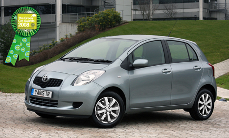 Toyota Yaris is the greenest car around says ETA