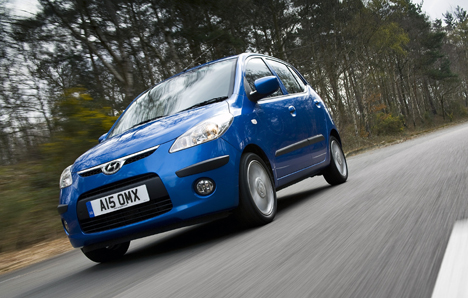 Hyundai's i10 is now available with a 1.2 petrol engine