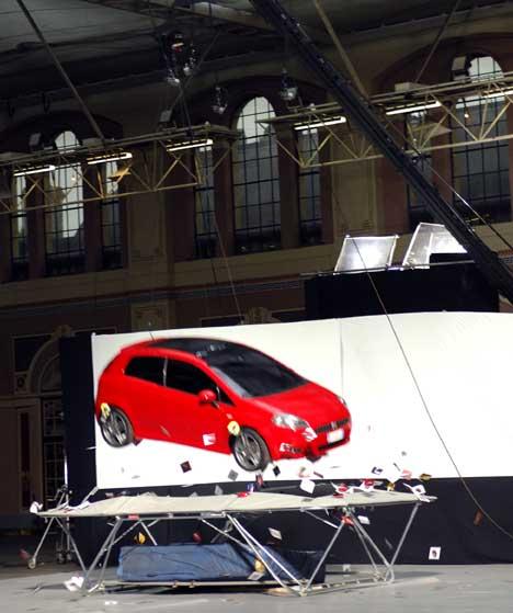 Fiat Grande Punto advert