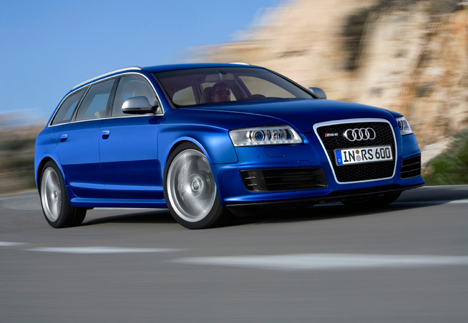 The most powerful production Audi - the new RS 6 quattro Avant - joins the UK Audi range in May priced at £77,625 OTR