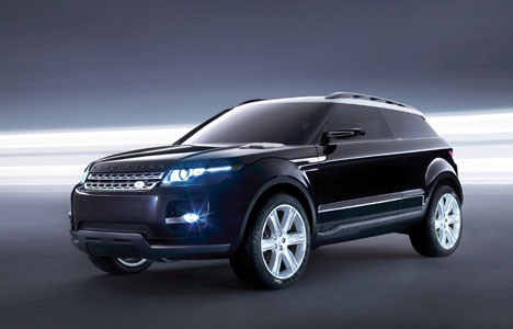 Land Rover's latest version of its LRX concept