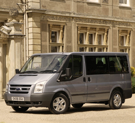 The winner will be chauffeured to Rome in a flagship Transit Tourneo