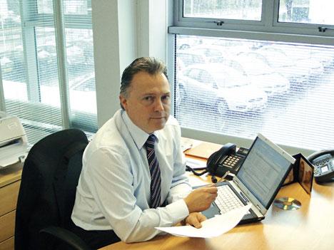 Pete Parker, operations director Birchwood Garages