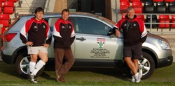Alex F Noble Nissan continues sponsorship of Lasswade rugby