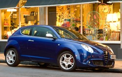 Alfa Romeo Mito with the new TCT automatic transmission