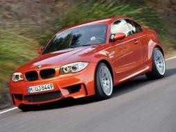 BMW 1 series M coupe front