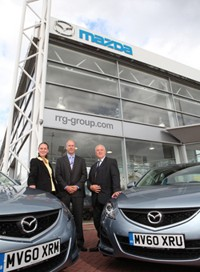 Mazda delivers fleet solution to CDL.