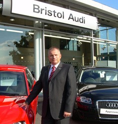 Steve Smith at Bristol Audi