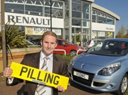 Alex Pilling, dealer principal of Pilling Renault, the new Renault dealership in Milton Keynes.