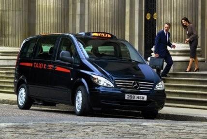 Eco City vehicles London cab Vito