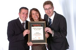 Eastbourne Suzuki wins Independent Business of the Year at the Eastbourne Business Awards 2010.