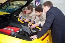 Ferrari apprenticeship programme in Slough