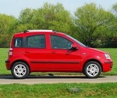 Fiat Panda now has Euro V engines