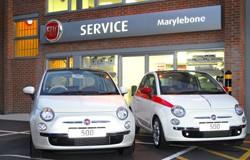 Fiat Marylebone service centre