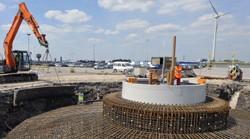 Ford Dagenham installs a third wind turbine