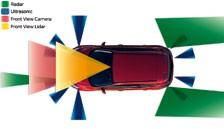 Ford Focus Mar 2011 driver assistance diagram