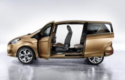 Ford B-Max without the standard B-pillars