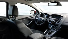 Ford Focus Mar 2011 interior