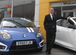 John Cairns dealer principal of Harratts Renault Wakefield