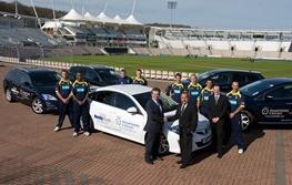 Hendy Mazda sponsors Hampshire Cricket