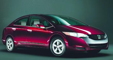 Honda FCX Clarity - Hydrogen Powered Car