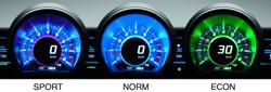 Honda CR-Z 3 mode system
