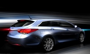 Hyundai i40 renderings 2010