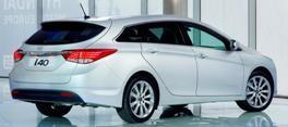 Hyundai i40 rear