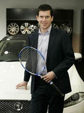 Jaguar is now an official partner with the Lawn Tennis Association