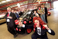 Kia Pimp My Part-Ex Red Nose Day charity auction